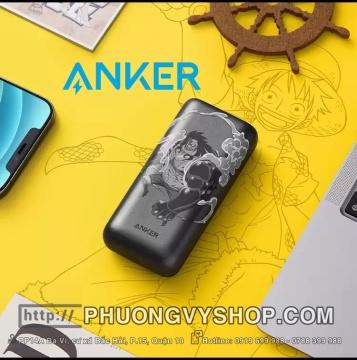 Pin sạc Anker 10.000 mAh (18W) phiên bản One Piece